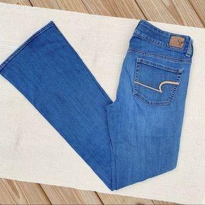 American Eagle Long Super Stretch Artist Jeans 6
